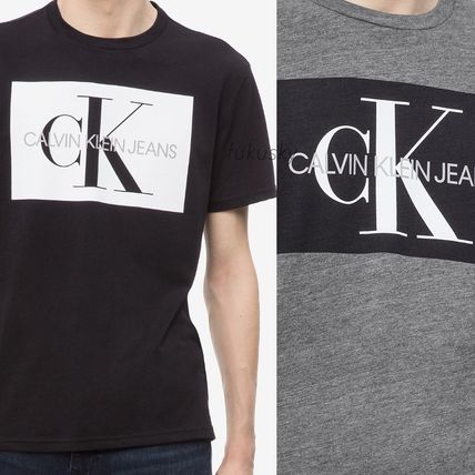 Calvin Klein Crew Neck Crew Neck Cotton Short Sleeves Crew Neck T-Shirts