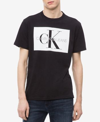Calvin Klein Crew Neck Crew Neck Cotton Short Sleeves Crew Neck T-Shirts 2