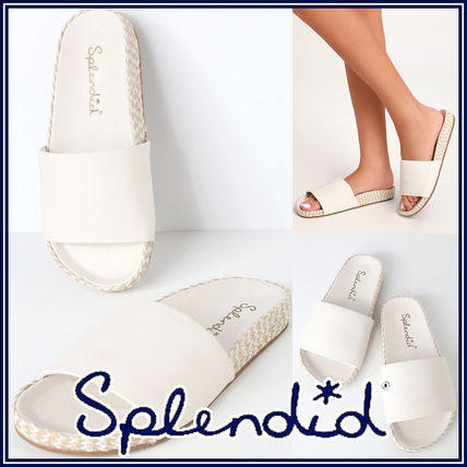 Open Toe Rubber Sole Casual Style Leather Sandals