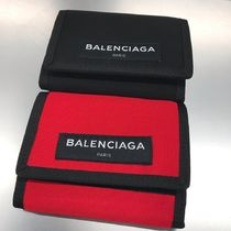 BALENCIAGA Nylon Folding Wallets