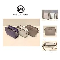 Michael Kors SELMA Casual Style Saffiano Studded Plain Home Party Ideas