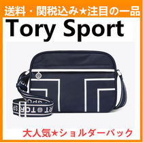 TORY SPORT Casual Style Nylon Plain Shoulder Bags