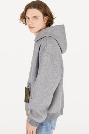 Louis Vuitton Hoodies Pullovers Wool Plain Hoodies 4