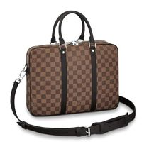 Louis Vuitton Monogram Street Style Business & Briefcases
