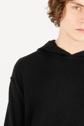 Louis Vuitton Hoodies Pullovers Cashmere Long Sleeves Plain Hoodies 4