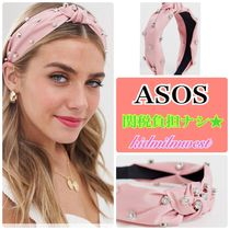 ASOS Casual Style Blended Fabrics Studded With Jewels Headbands