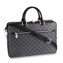 Louis Vuitton Other Check Patterns Unisex Canvas 2WAY
