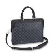Louis Vuitton DAMIER COBALT Canvas Street Style 2WAY Business & Briefcases