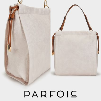 A4 2WAY Plain Office Style Totes
