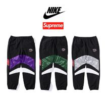 Supreme Unisex Street Style Collaboration Bottoms