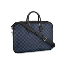 Louis Vuitton Gingham Street Style Leather Business & Briefcases