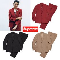 Supreme Unisex Street Style Suits