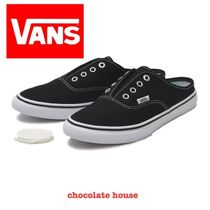 VANS AUTHENTIC Casual Style Plain Low-Top Sneakers