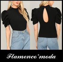 Puffed Sleeves Tops