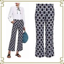 Emilio Pucci Other Check Patterns Flower Patterns Long Elegant Style