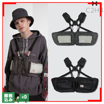 C2H4 Unisex Nylon Street Style Plain Hip Packs