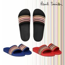 Paul Smith Stripes Unisex Street Style Shower Shoes Shower Sandals