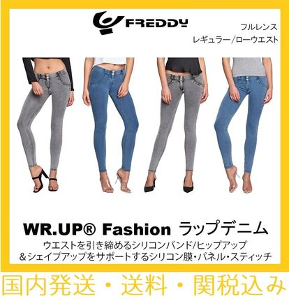 【SALE】Mid / Low Waist Full Length WR.UP Denim