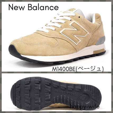 new style ec848 12605 New Balance 1400 2019-20AW Suede Plain Sneakers