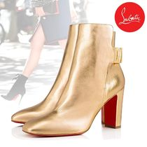 Christian Louboutin So Kate Leather Pin Heels Elegant Style Ankle & Booties Boots