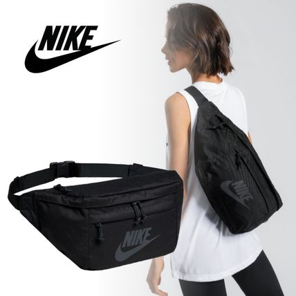 Casual Style Unisex Plain Shoulder Bags