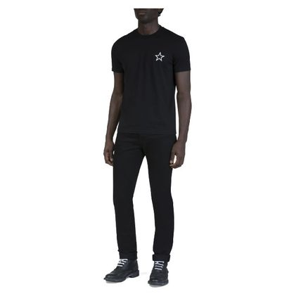 GIVENCHY Crew Neck Crew Neck Pullovers Unisex Plain Short Sleeves 9