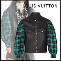 Louis Vuitton 19-20AW LEATHER JACKET black 34-38 jacket