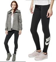 Nike Casual Style Street Style Plain Long Bottoms