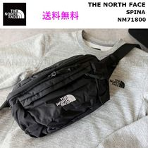 THE NORTH FACE Unisex Nylon Street Style Plain Hip Packs