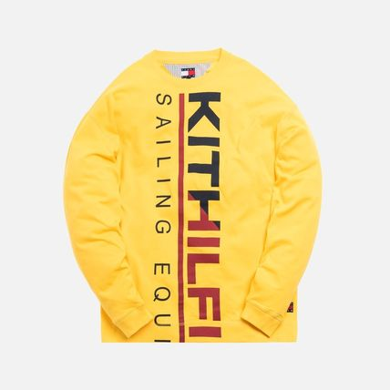 KITH NYC Long Sleeve Unisex Street Style Collaboration Long Sleeves 2