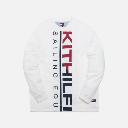 KITH NYC Long Sleeve Unisex Street Style Collaboration Long Sleeves 3