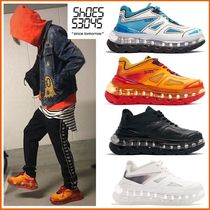 SHOES 53045 Unisex Faux Fur Street Style Oversized Sneakers