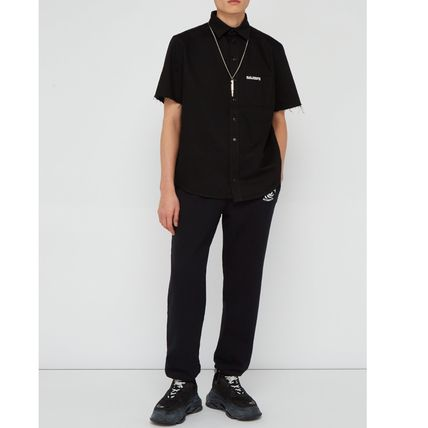 VETEMENTS Shirts Street Style Cotton Short Sleeves Shirts 3