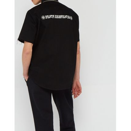 VETEMENTS Shirts Street Style Cotton Short Sleeves Shirts 4