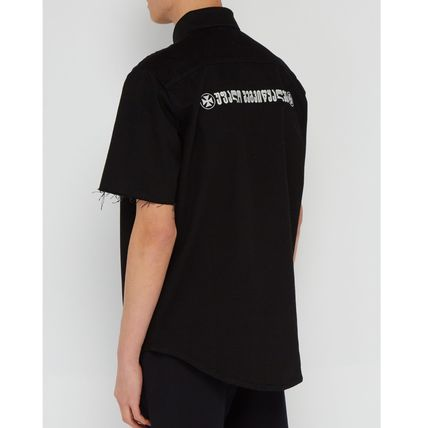 VETEMENTS Shirts Street Style Cotton Short Sleeves Shirts 5