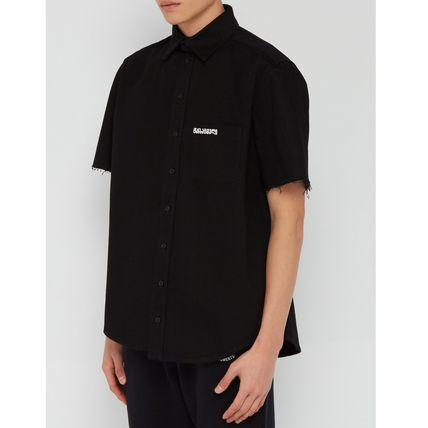 VETEMENTS Shirts Street Style Cotton Short Sleeves Shirts 6