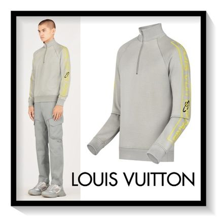 Louis Vuitton Sweatshirts Pullovers Long Sleeves Cotton Sweatshirts