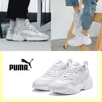 PUMA THUNDER L Casual Style Unisex Street Style Plain Low-Top Sneakers