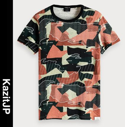 Camouflage Short Sleeves T-Shirts