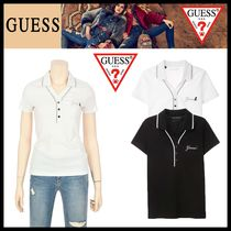 Guess Casual Style Street Style Polo Shirts