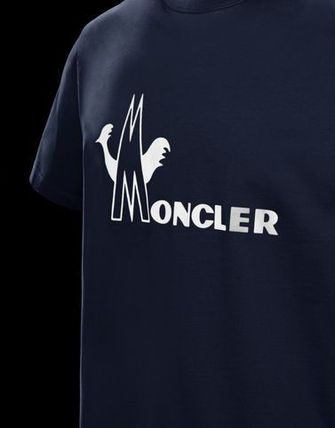 MONCLER Crew Neck Crew Neck Cotton Short Sleeves Crew Neck T-Shirts 9