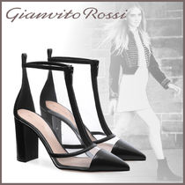 Gianvito Rossi Blended Fabrics PVC Clothing High Heel Boots