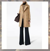 Burberry Plain Long Office Style Coats