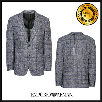 Short Other Check Patterns Blazers Jackets