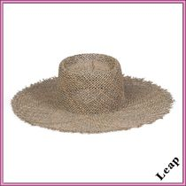 lack of color Fringes Straw Boaters Straw Hats