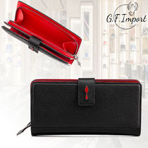 Christian Louboutin Paloma Unisex Leather Long Wallets