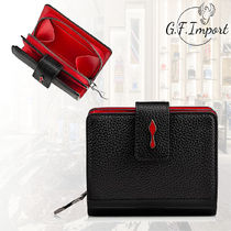 Christian Louboutin Paloma Unisex Leather Folding Wallets