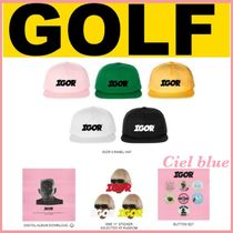 GOLF WANG Unisex Street Style Wide-brimmed Hats