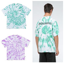 thisisneverthat Tie-dye Cotton Short Sleeves T-Shirts