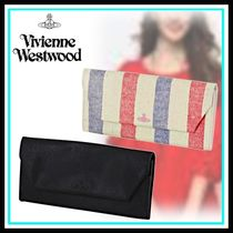 Vivienne Westwood Blended Fabrics Home Party Ideas Long Wallets